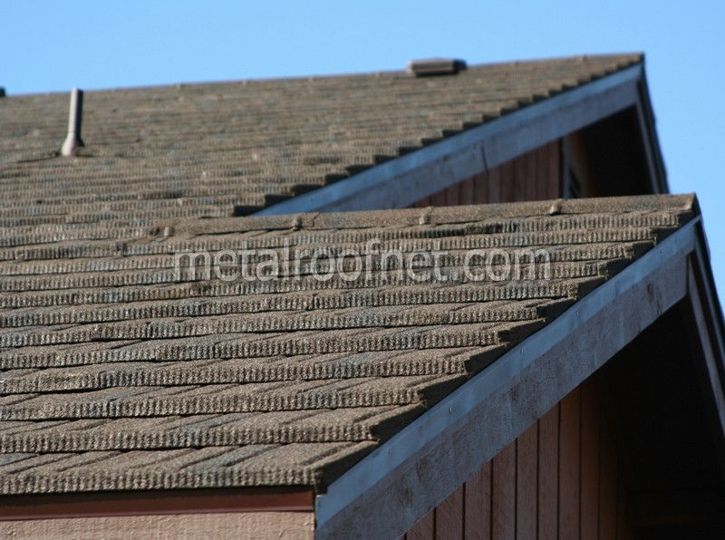 Coated steel shake photo gallery metal roof network for Cost of metal roof