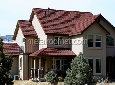 Top four metal roof colors for Best roof color