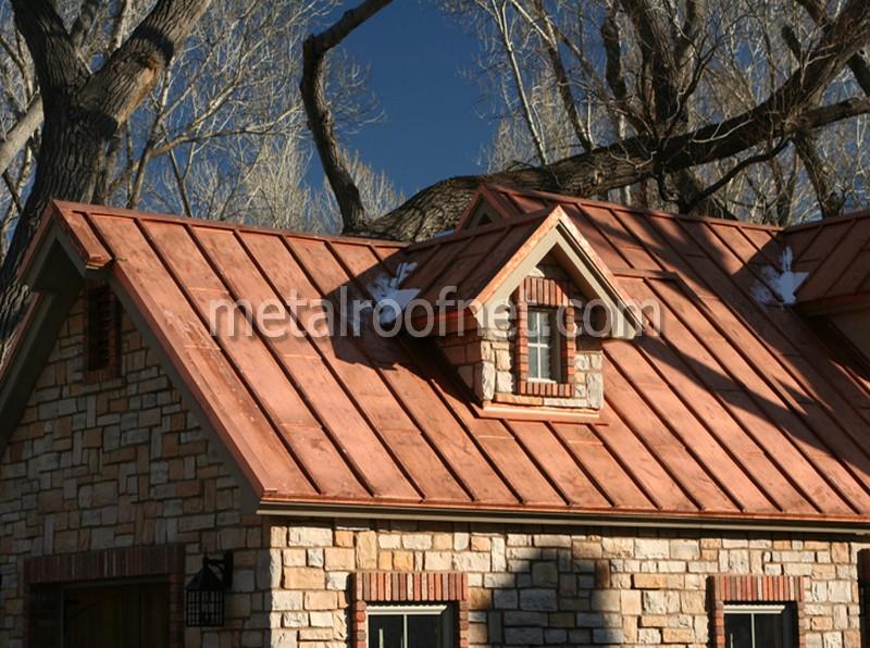 Cooper Roof Amp Batten Seam Copper Roof Panels