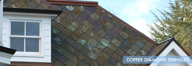 Copper Diamond Shingle