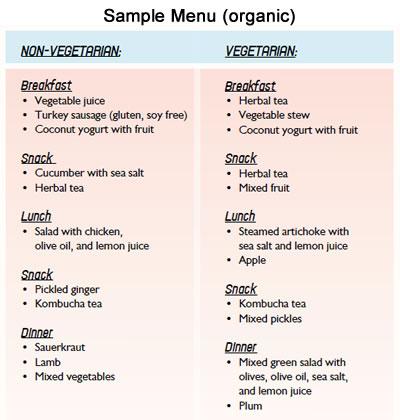Repairvite Diet Allowed Foods