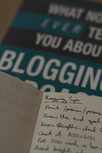 Blogging Advice | Blogging Regularly Pic