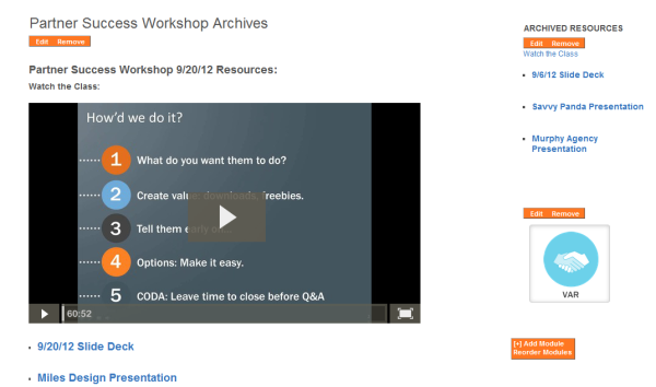 HubSpot Partner Success Workshops Webinar Archive Page resized 600