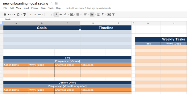 New Hubspot Consulting and Ongoing Planning Tool