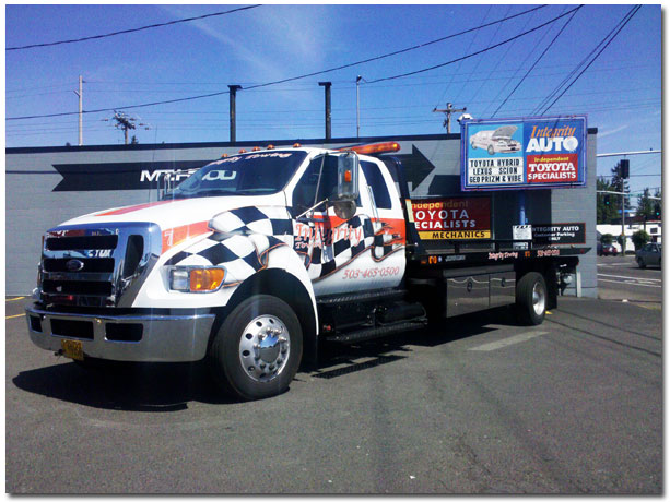 Beaverton Toyota Service >> (503)-465-0500 Integrity Towing providing reliable automotive towing service in Portland, PDX ...