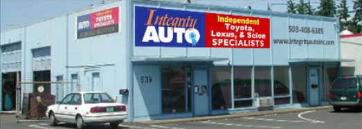 We work on Toyota vehicles exclusively. As ASE certified independent To