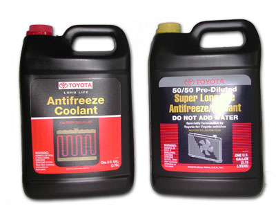 Good clean antifreeze not only protects your engine from freezing in the winter, but of course also acts as a coolant that keeps the engine from overheating year round.