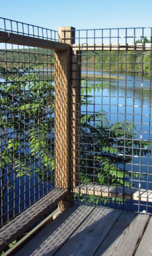 Welded Wire Mesh Meets Railing Amp Handrail Safety Requirements