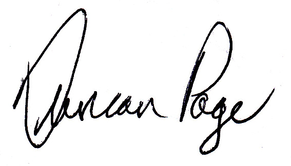 Duncan Page signature