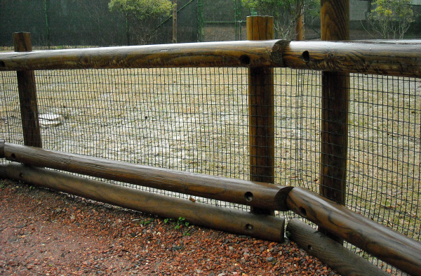vinyl coated welded wire mesh safety fence