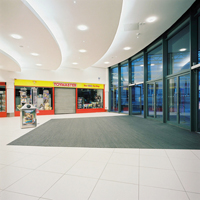 CS Entrance Matting at Mall Blackburn