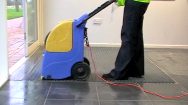 entrance matting deep cleaning