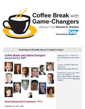 SAP GameChangers 2013 Predictions