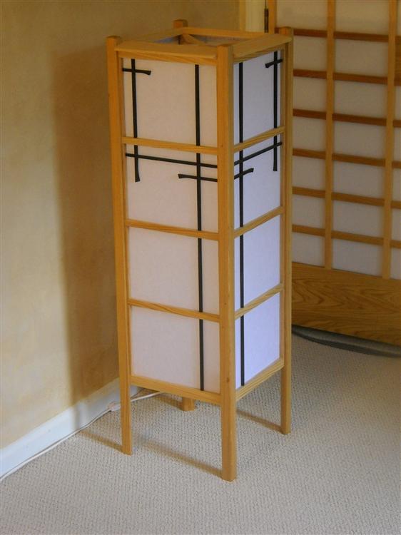 Charmant Shoji Style Floor Lamp, Off ...