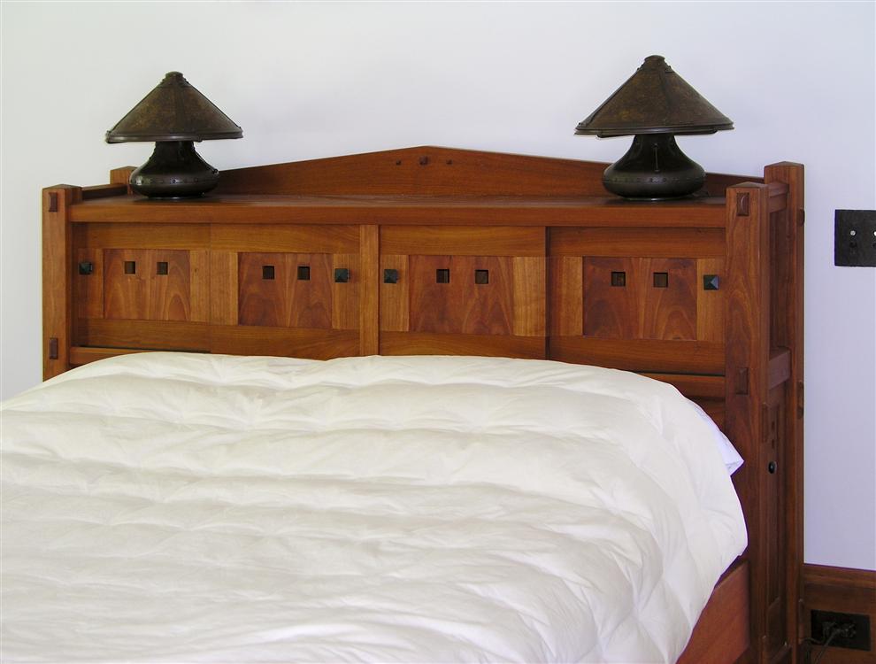 Custom Made Bed.
