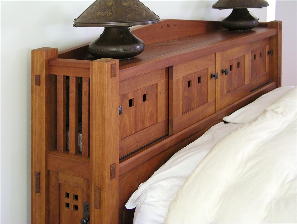 Wonderful Custom Made Bed.