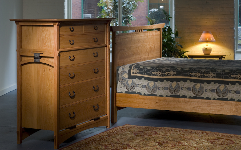 Asian style handmade bedroom furniture new england for Zen inspired furniture
