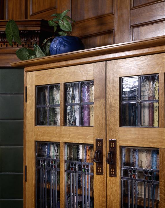 Custom Made Bookcase.