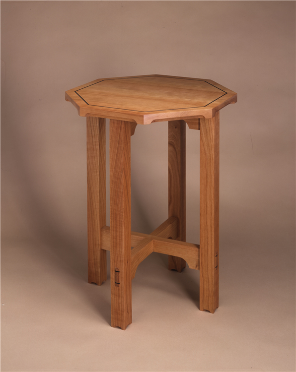 Hand made furniture new england furniture makers octagonal for New england style desk