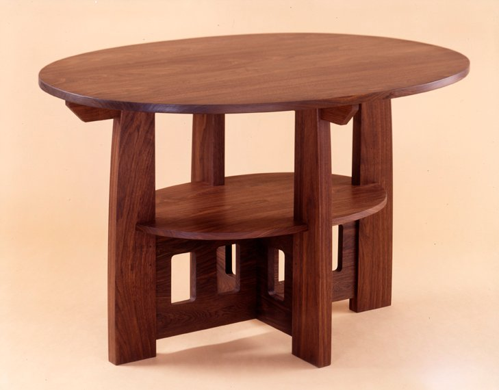 Charles Limbert Oval Table.
