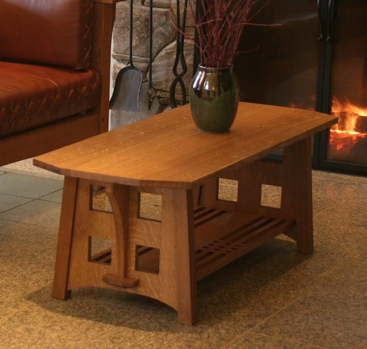 Limbert Furniture Custom Handmade Coffee Table Fine Furniture Makers