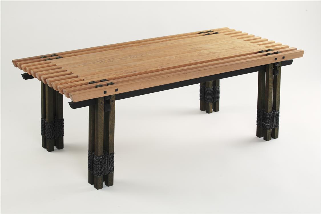 Asian arts and crafts furniture jin di sugi high end for Design table replica