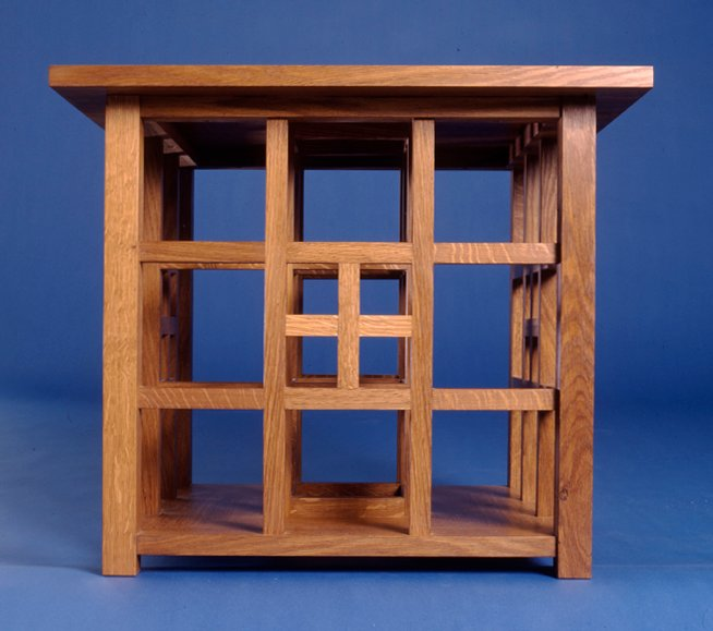 Charles Rennie Mackintosh|Hill House cube table|fine furniture|makers