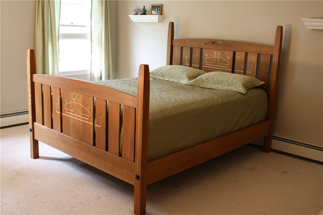 Custom Arts And Crafts Furniture Kintosh Style Inlaid Bedroom. Arts And Crafts Bedroom   Best Bedroom 2017