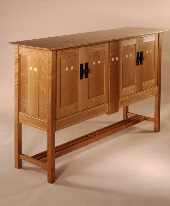 High end furniture inspired by the designs of Charles Rennie Mackintosh. modern Arts and Crafts furniture high end furniture sideboard