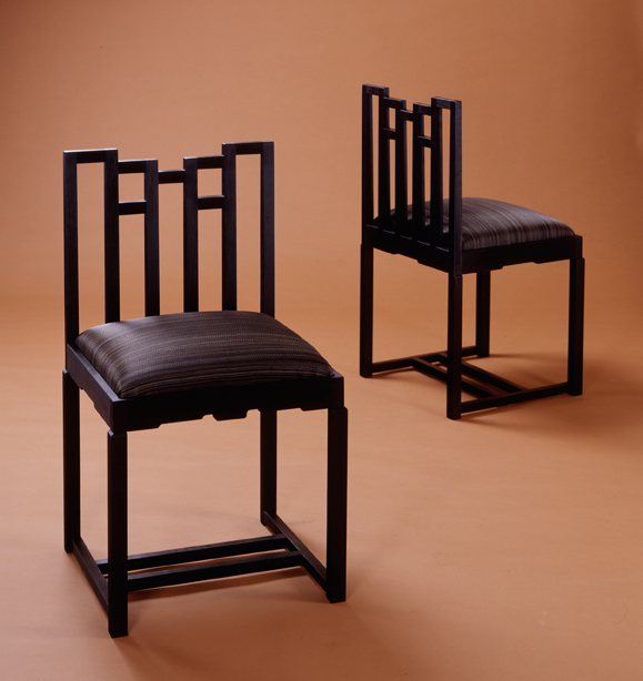 charles rennie mackintosh chinese room chair fine furniture makers. Black Bedroom Furniture Sets. Home Design Ideas