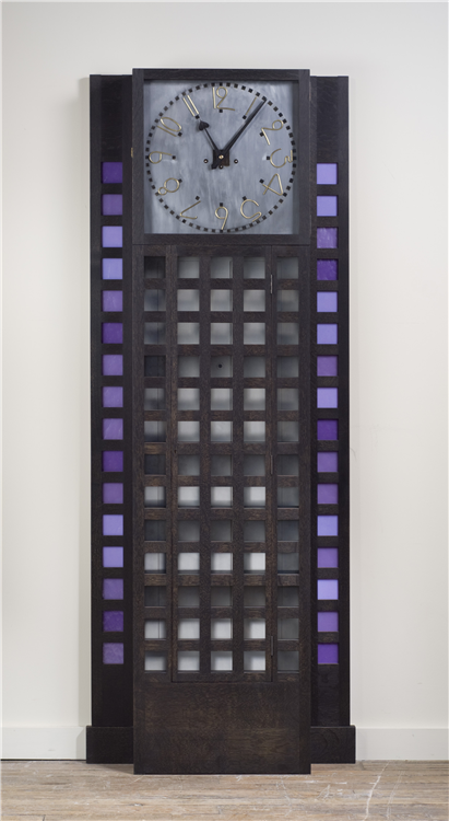 Charles Rennie Mackintosh Tall Clock. Willow Tea Rooms Tall Clock.