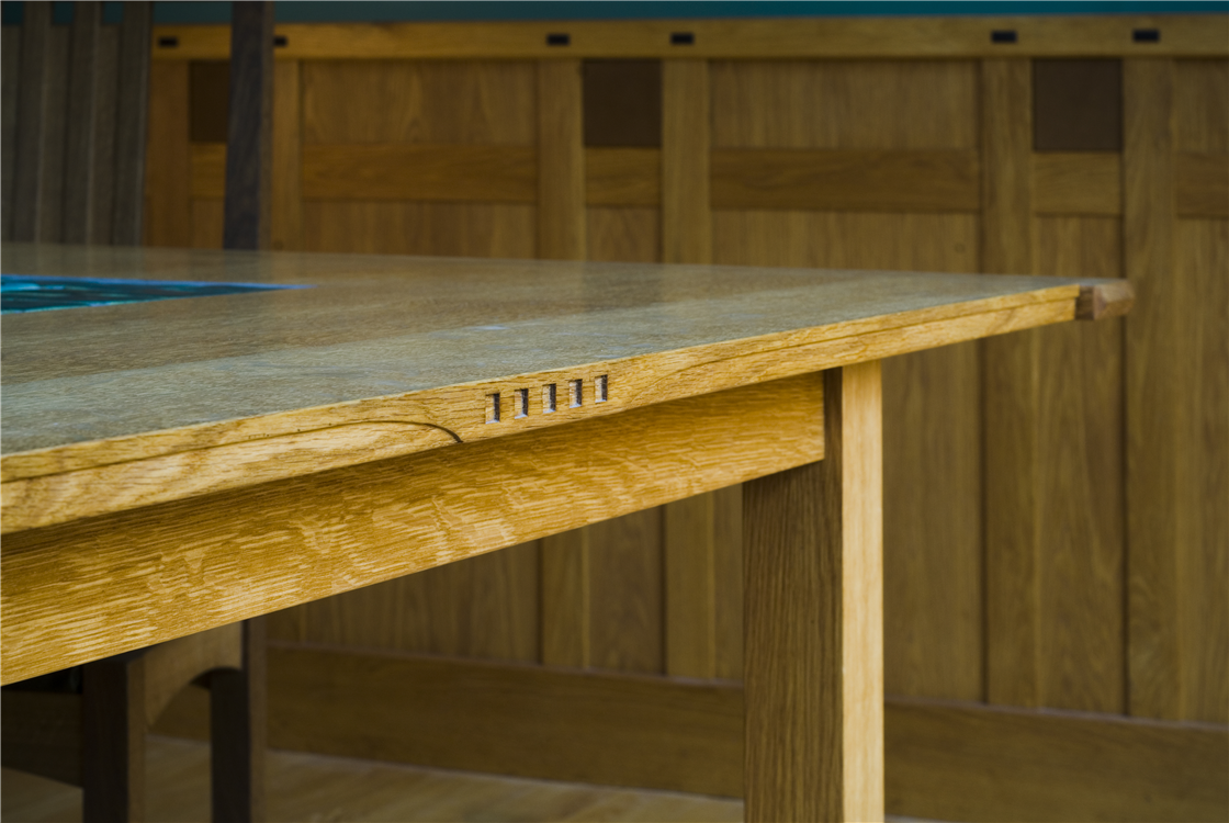 custom arts and crafts furniture|custom dining tables