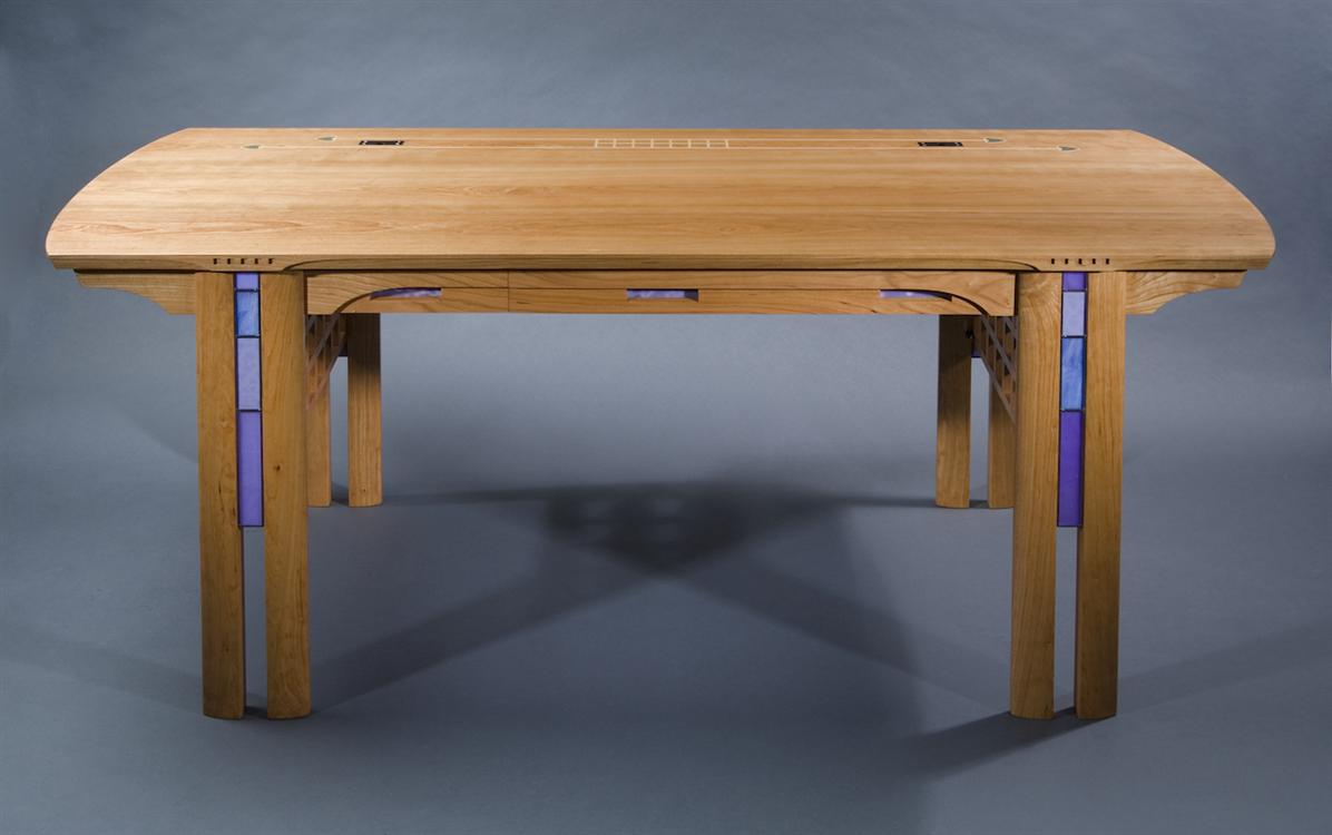 Custom Desk Designs charlesrenniemackintosh|fine furniture|custom desks|inlaid furniture