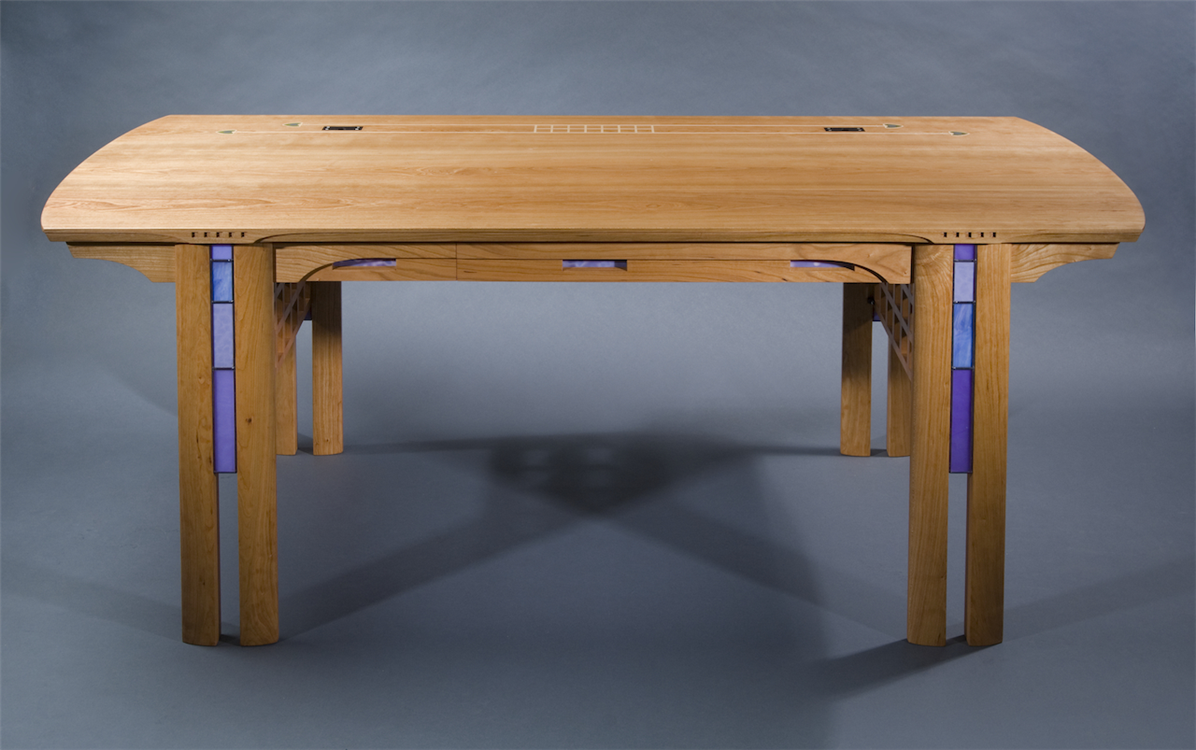 Executive Office Desk, Custom Made By Kevin Rodel Furniture U0026 Design  Studio, Brunswick, ...