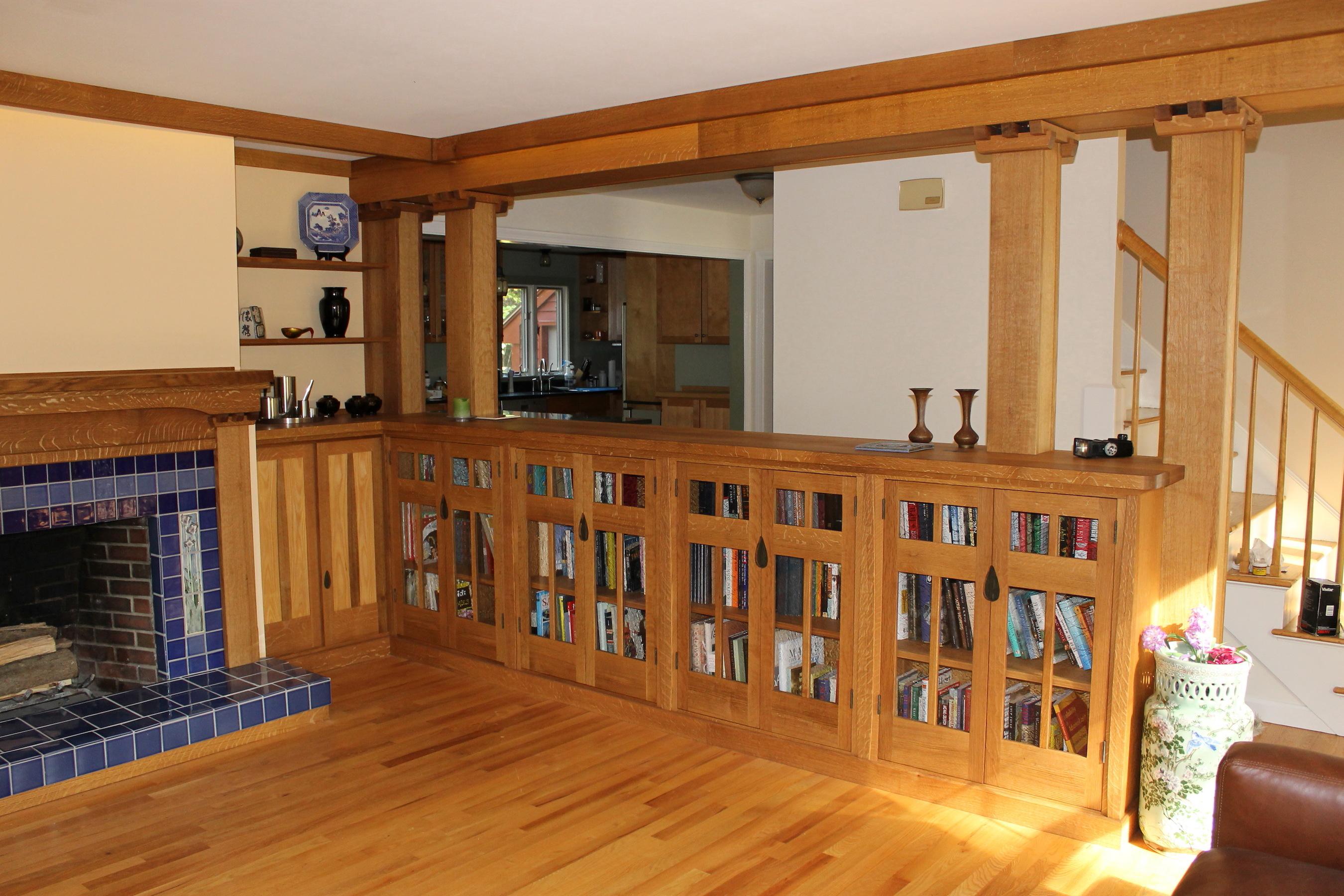 Furniture design high end furniture corporate public spaces for Interior half wall designs
