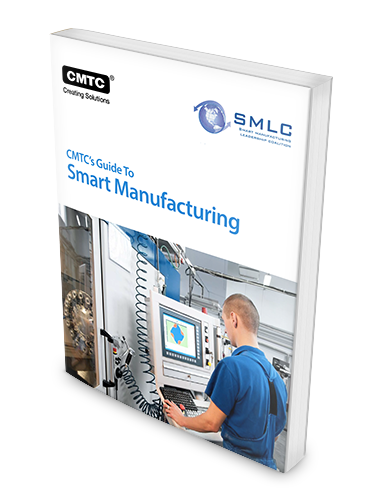 CMTC's guide to Smart Manufacturing 3D cover