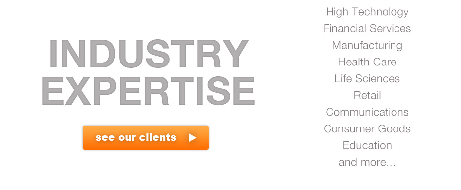Industry Expertise Client List