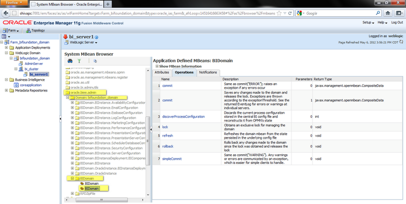 The Manual Deployment of an OBIEE 11G Repository