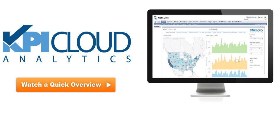 KPI Cloud Analytics for NetSuite