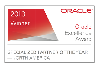 Oracle BI Excellence Award Specialized Partner of the Year Education EPM