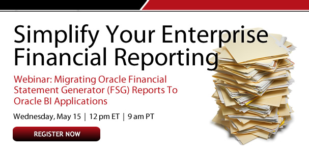 Simplify Your Enterprise Financial Reporting