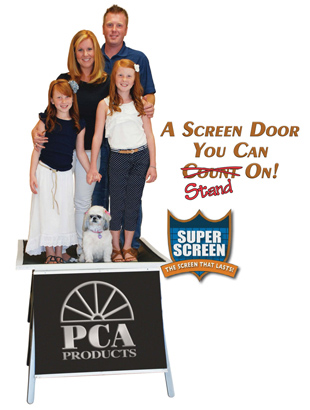 durable screen door