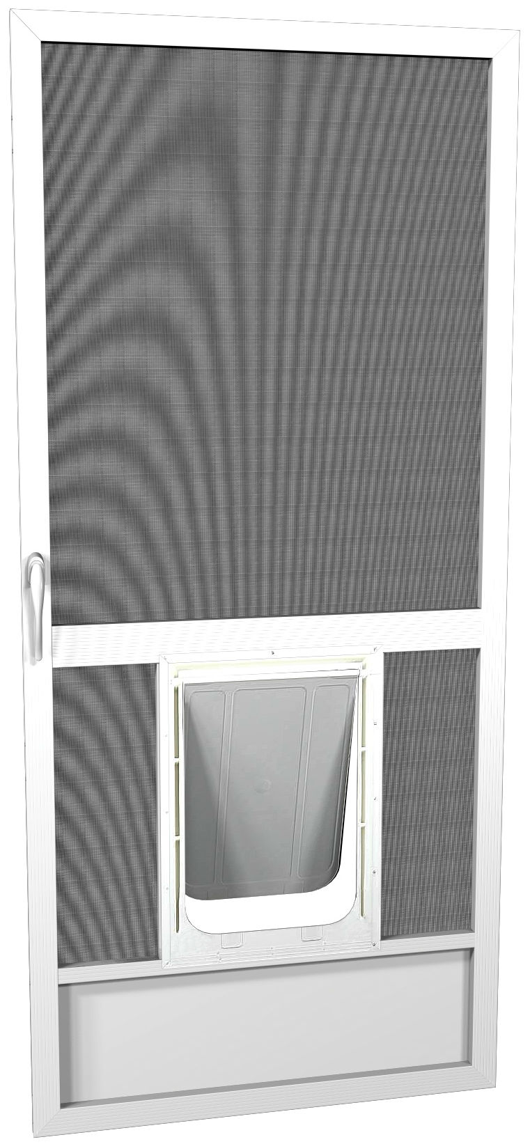 Pet friendly screen door