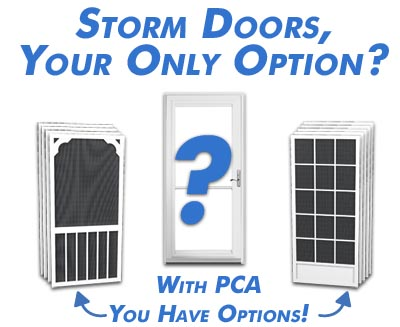 Quality screen doors are a durable alternative to storm doors