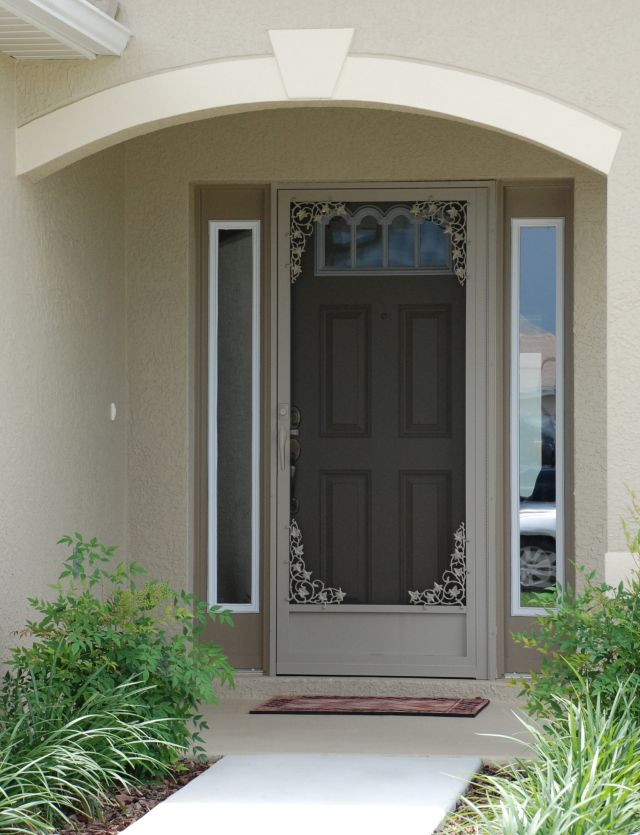 Wholesale screen doors aluminum screen doors custom for Entry door with screen