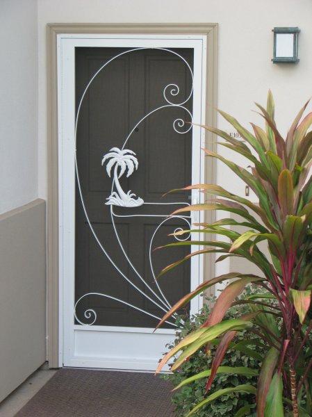 front screen door design ideas ed_palm 1 - Door Design Ideas