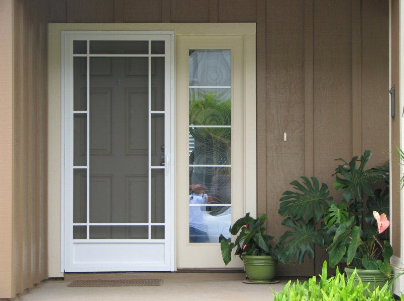 Wholesale screen doors aluminum screen doors custom for Exterior door companies
