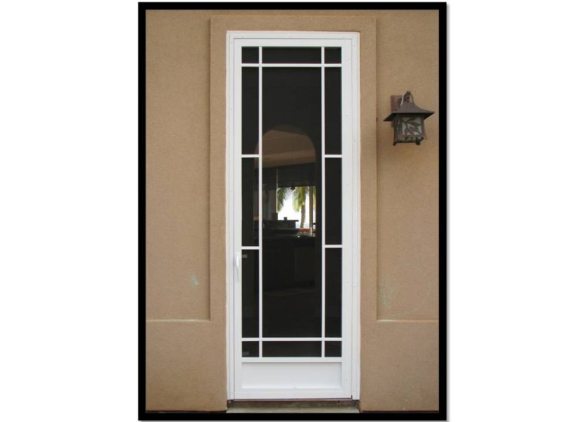 Wholesale screen doors aluminum screen doors custom for Aluminum screen doors