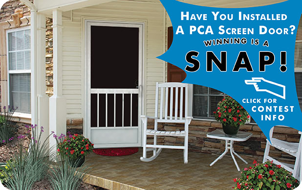 PCA A Series Screen Door