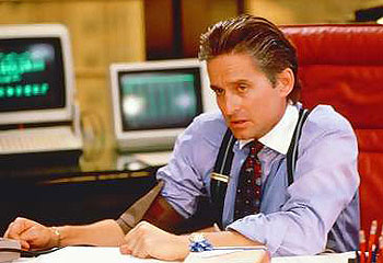 michael douglas on gordon gekko